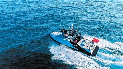 国内首个无人船研发测试基地建成 年底投入使用