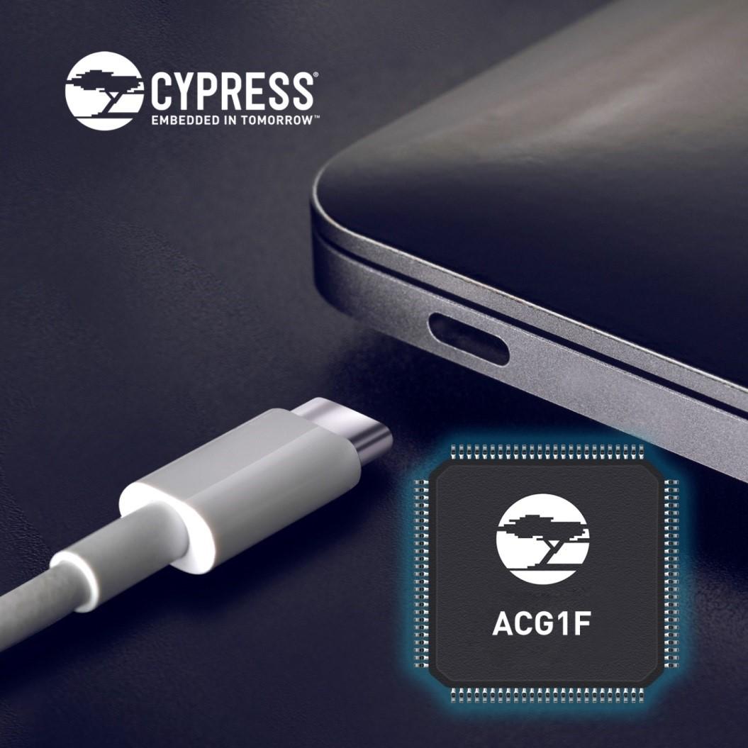 赛普拉斯针对PC的海量细分市场推出USB-C控制器