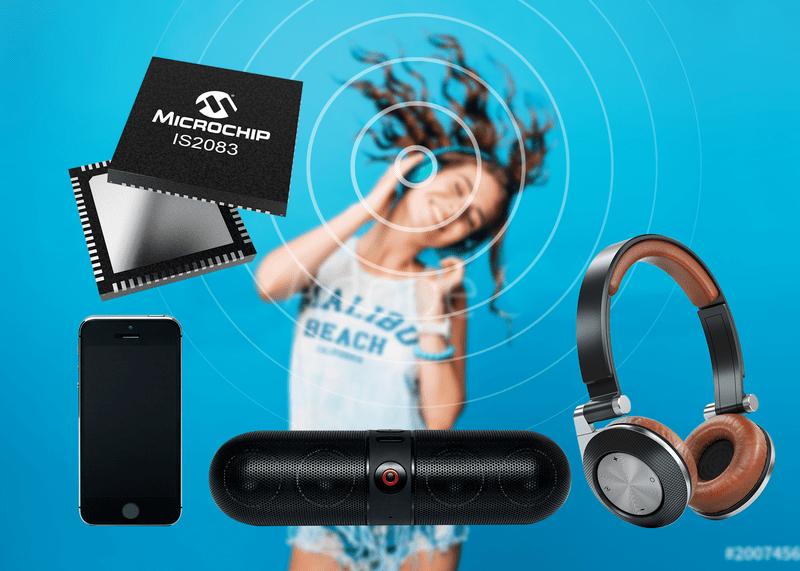 Microchip蓝牙5.0双模方案:简化无线音频物料清单
