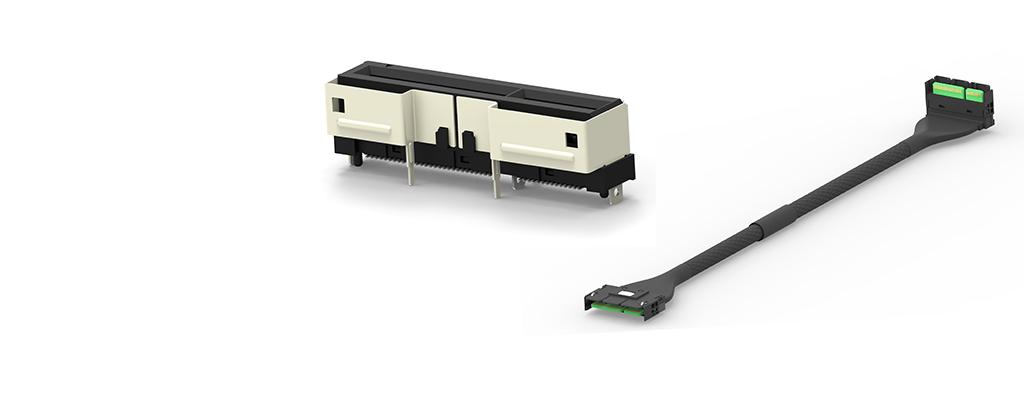 TE Connectivity推出新型Sliver带电缆插座和电缆组件,信号和电源一体整合式解决方案,符合SFF-TA-1002规范