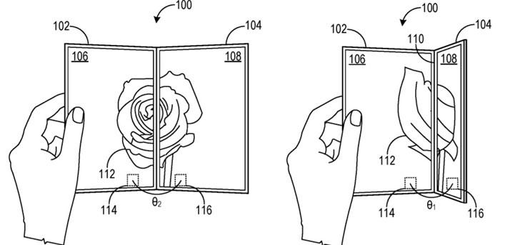微軟新專利可用于確認Surface Duo兩塊屏的相對方向