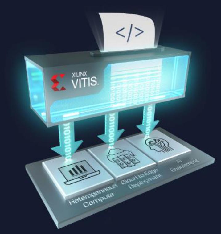 Xilinx祭出Vitis統一軟件平臺,面向軟硬件和AI等所有開發者