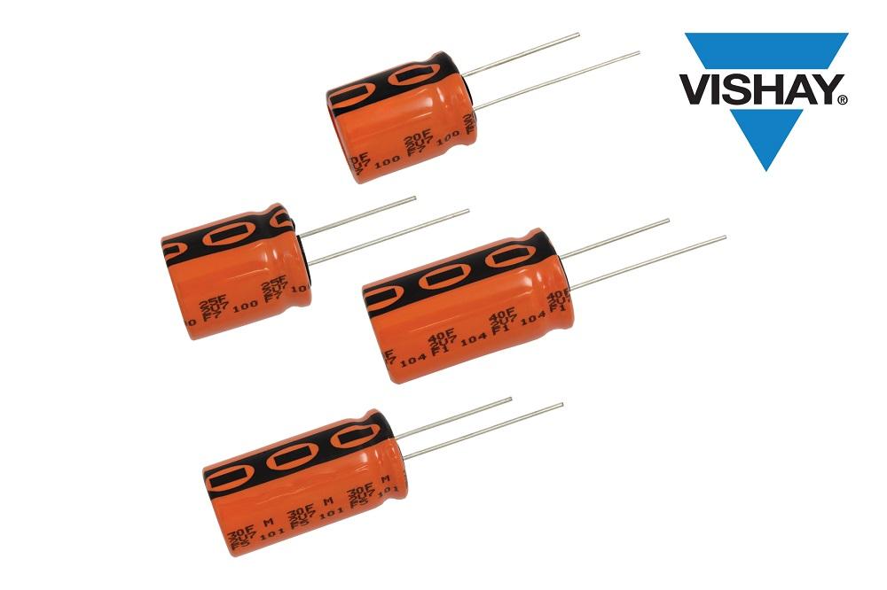 Vishay推出具有长寿命、高耐潮特性的3 V加固型ENYCAP™储能电容器