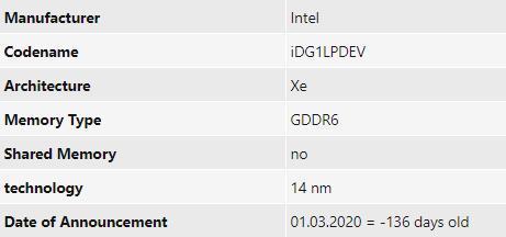 传Intel Xe独显已亮机测试:14nm工艺 可战GTX 1050