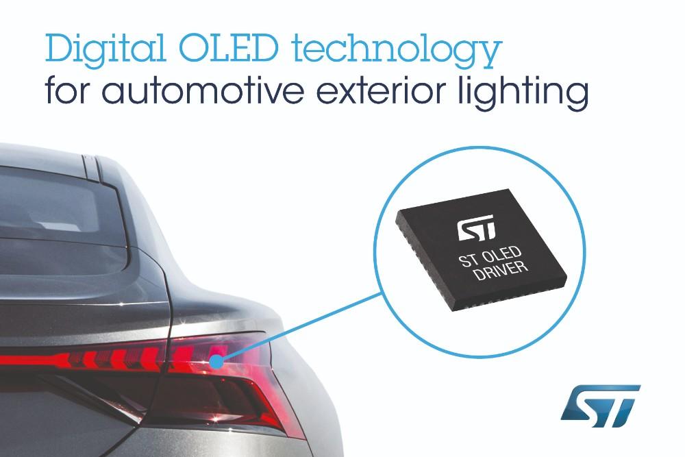 ST与奥迪合作,开发及提供下一代汽车外部照明解决方案