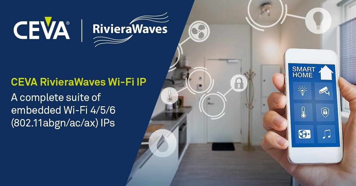 AIC爱科微获得CEVA 802.11ax Wi-Fi 6 IP授权许可用于IoT连接