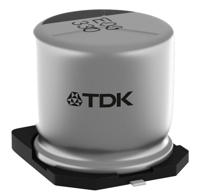 铝电解电容器:采用混合聚合物技术的坚固耐用型贴片(SMD)电容器