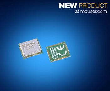 贸泽开售用于超低功耗WPAN 设计的 Microchip SAM R30 Sub-GHz模块