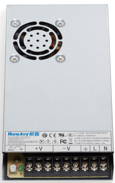 航嘉350W通用型平板工业电源系列--助力智慧工业发展