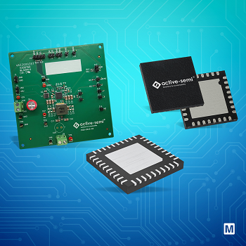 Qorvo Active-Semi全系产品在贸泽开售