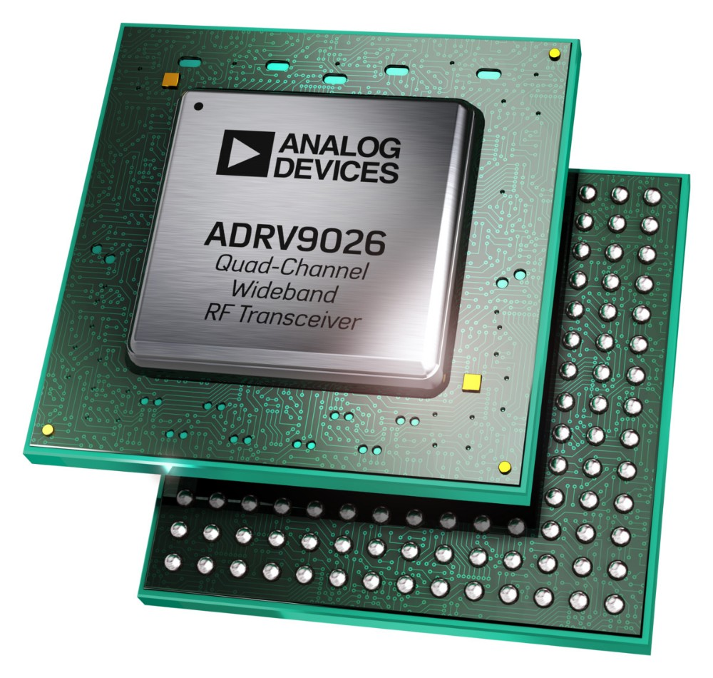 ADI公司推出宽带RF收发器,以帮助基站开发人员简化系统设计并降低成本
