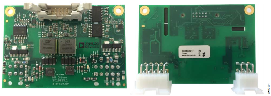 使用ADuM4136隔離式柵極驅動器和LT3999 DC/DC轉換器驅動1200 V SiC電源模塊
