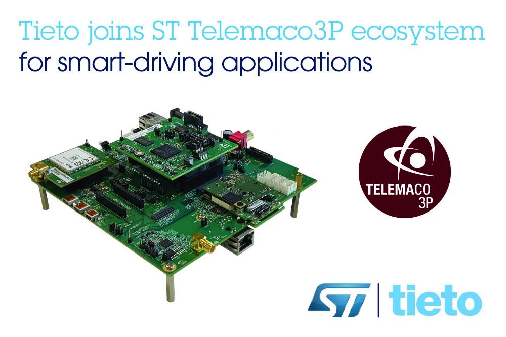 Tieto和ST携手合作,加快汽车中控单元开发周期,提高驾乘安全性和数据安全性