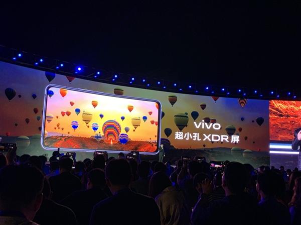 三星独家定制!vivo X30系列搭载超小孔XDR屏幕:1200尼特亮度
