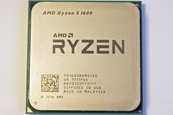 一代锐龙5 1600悄悄升级12nm Zen+:实测很惊喜