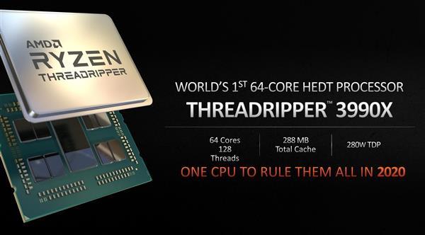 售价2万的48核处理器来了?锐龙Threadripper 3980X处理器再次曝光