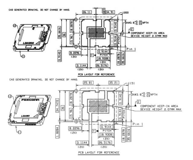 英特爾LGA1200插槽草圖 兼容LGA115x散熱器