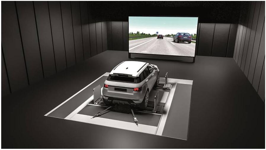 AVL整车测试平台集成罗德与施瓦茨的卫星导航模拟器