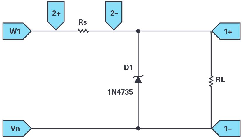 齐纳二极管稳压器ADALM2000应用示例