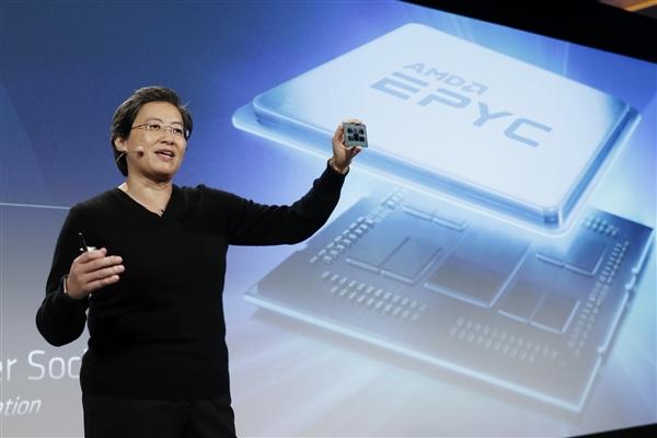 AMD准备高频32/64核心霄龙:空前加速4.4GHz