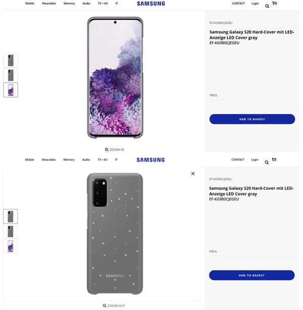 三星意外官宣Galaxy S20:韩版起步价约7400元、2月14日开订