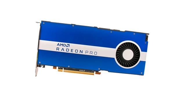 AMD发布Radeon Pro W5500专业卡:性能超竞品10倍