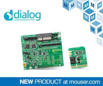 贸泽电子备货Dialog DA14531 SmartBond TINY开发套件,打造低成本的物联网系统