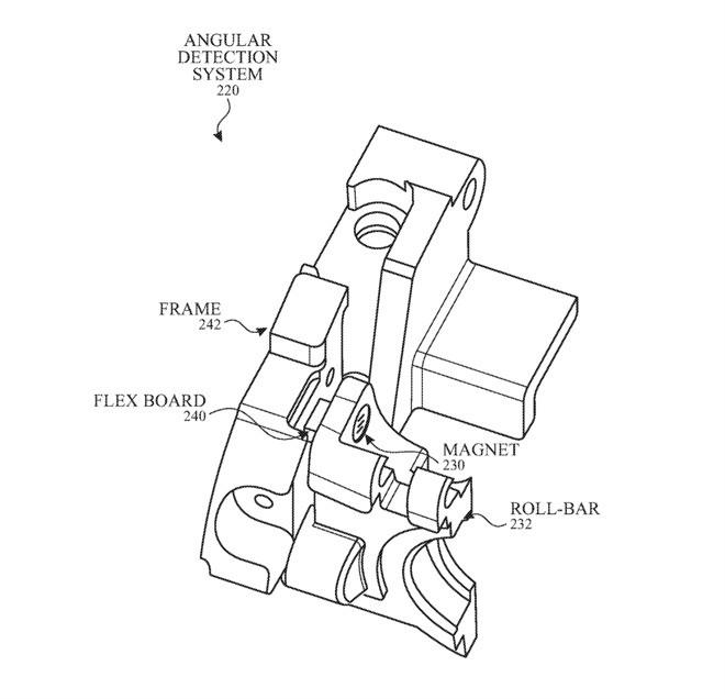 苹果AR/VR专利:用霍尔传感器检测佩戴状态