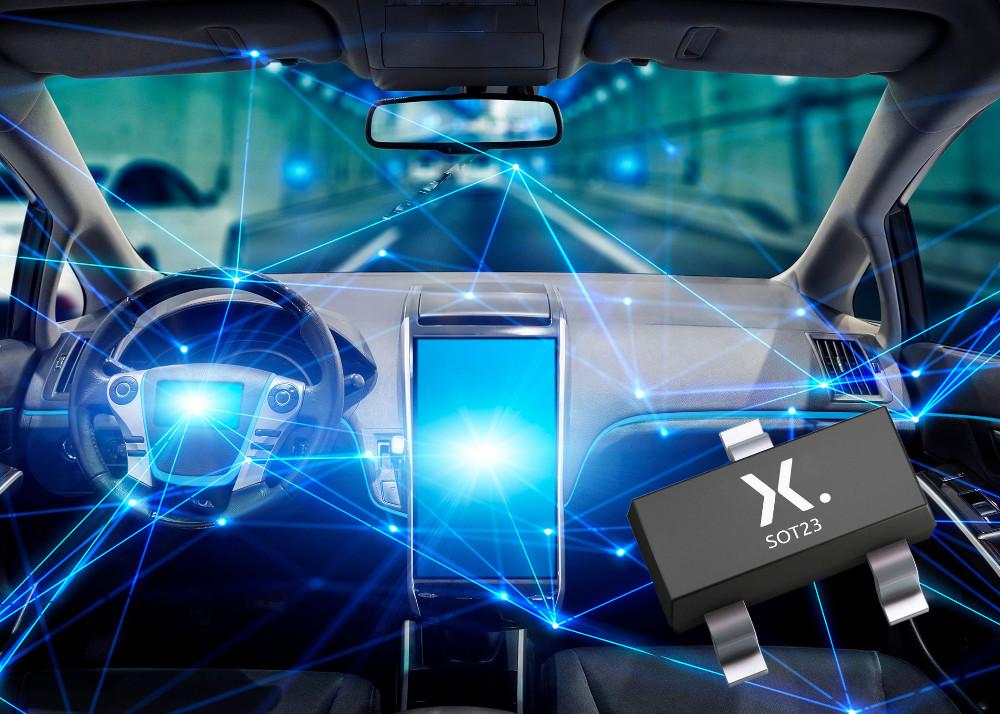 Nexperia面向汽车以太网新硅基 ESD 防护器件