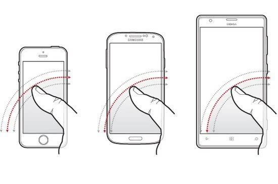 如何选择手机尺寸?先量量你的大拇指吧