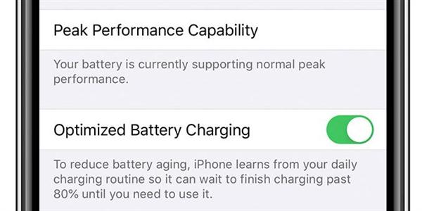 苹果在iOS 13新版中对电池保护功能优化:让iPhone续航更出色