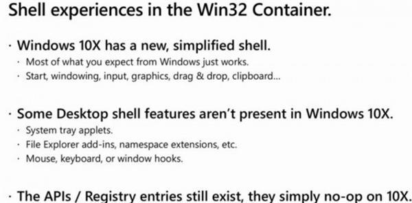 Windows 10X支持32位应用 微软给出苛刻条件