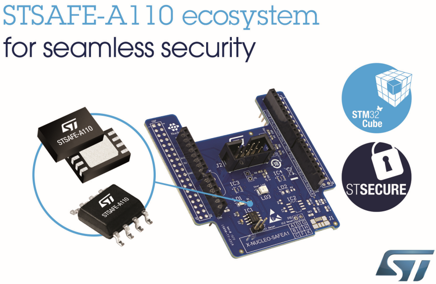 意法半导体推出新STSAFE安全单元,为开发者提供经过认证的资产跟踪和品牌保护解决方案
