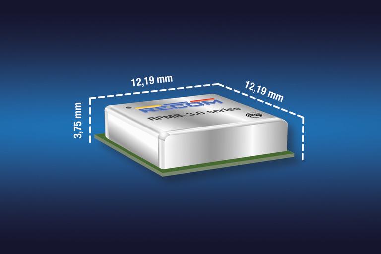 SMD LGA管脚封装的开关稳压器的输入电压目前可高达36V