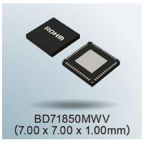 "ROHM开发出非常适用于恩智浦""i.MX 8M Nano系列""处理器的电源管理IC""BD71850MWV"""