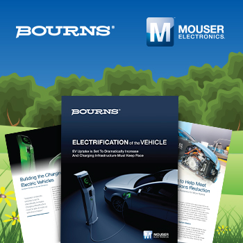 贸泽电子携手Bourns推出全新电子书 为你全面解读电动汽车充电设施相关知识