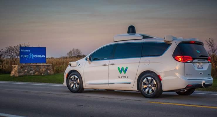 自动驾驶公司Waymo完成首轮外部融资 金额高达22.5亿美元