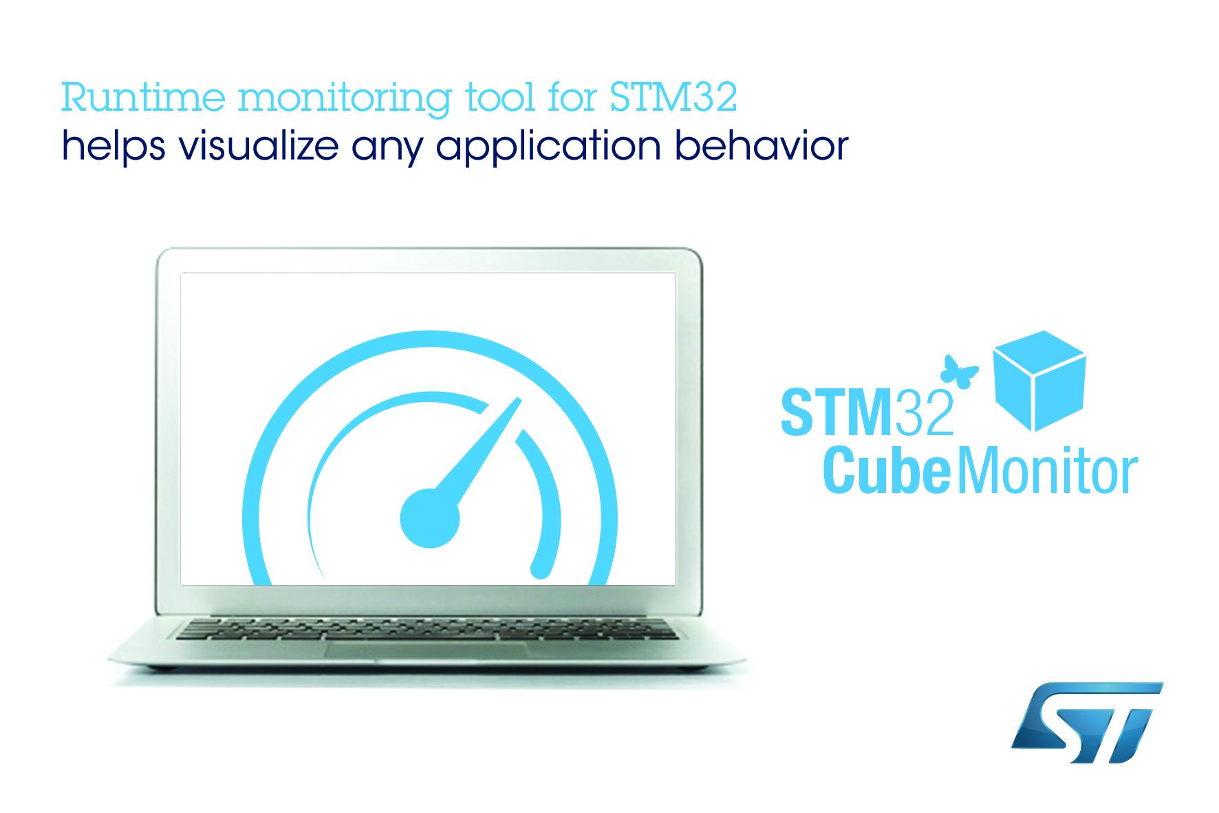 ST发布STM32CubeMonitor变量监视及可视化工具,灵活支持多操作系统