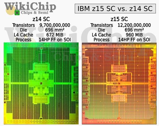 IBM z15集成1315MB海量缓存:14nm工艺媲美台积电5nm