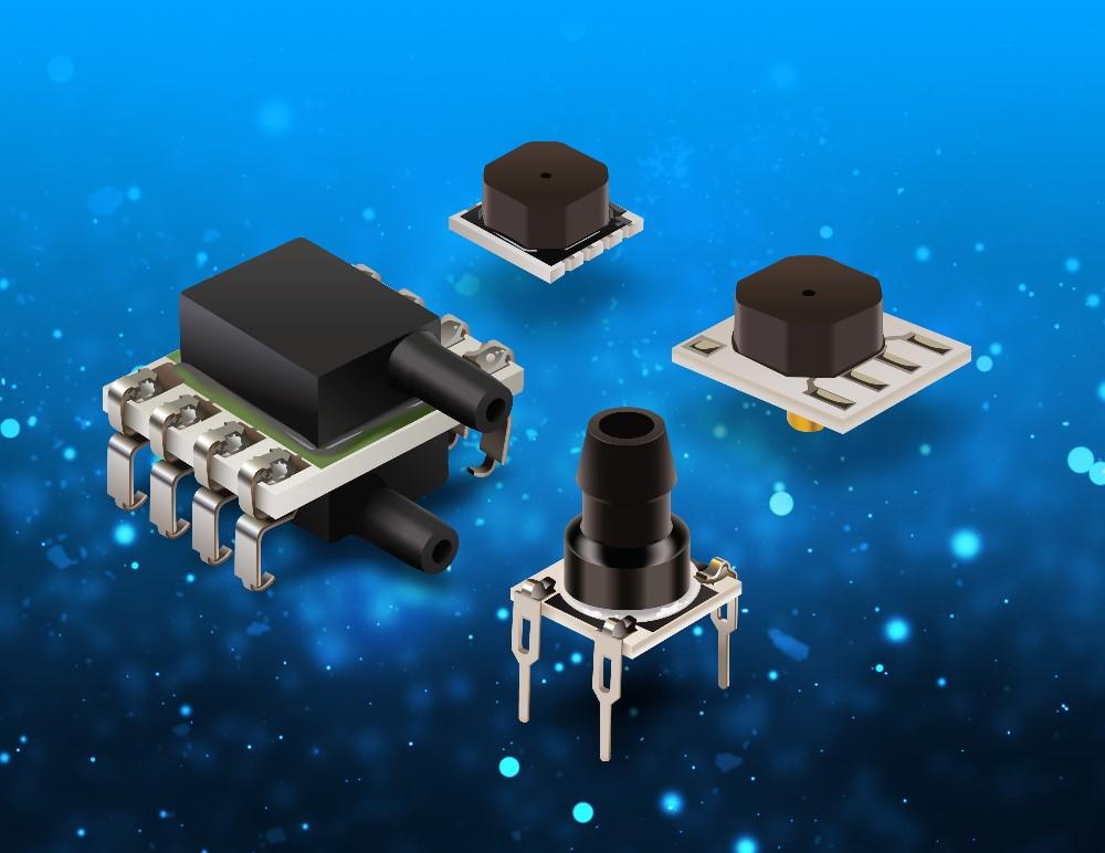Bourns推出四款新系列环境压力传感器产品