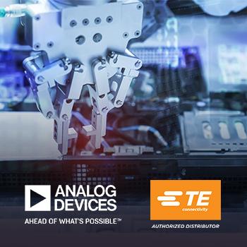 贸泽新品快讯:Analog Devices和TE Connectivity联手推出车间用工业通信解决方案