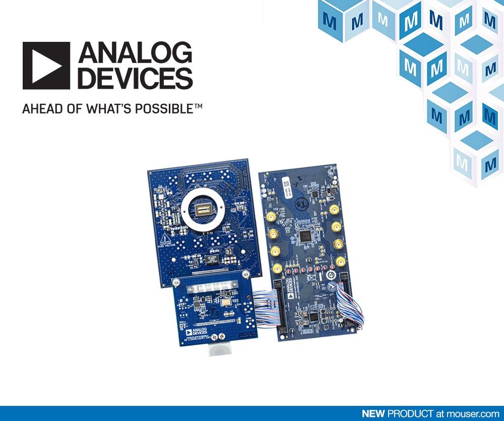 贸泽开售Analog Devices可定制的模块化LiDAR原型设计平台
