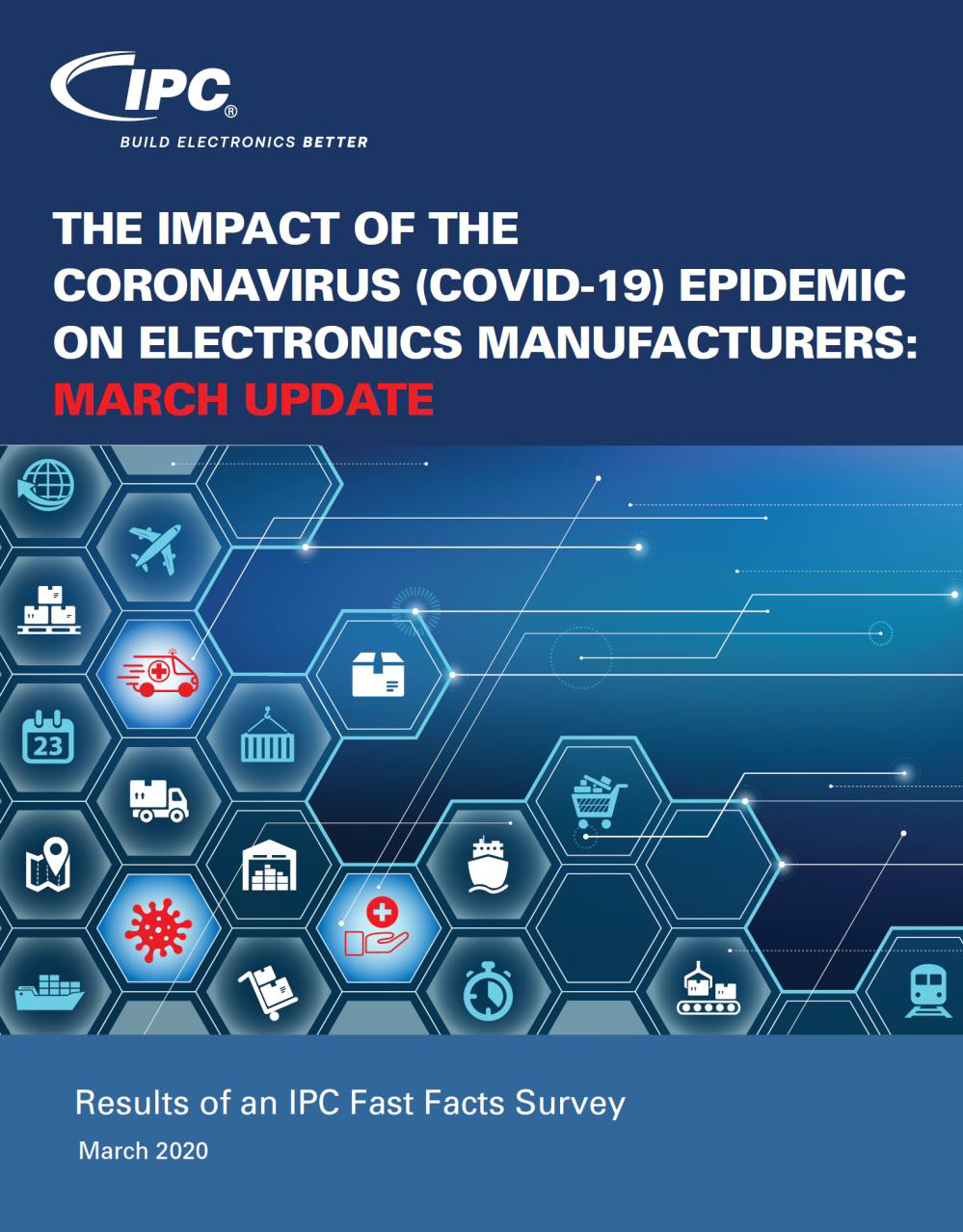 IPC发布新型冠状病毒对电子产品制造商的影响