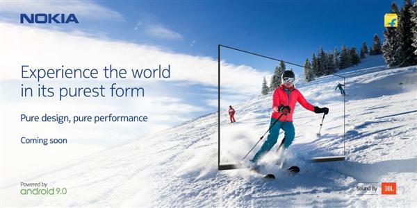 诺基亚预告新款43寸电视即将上市:超窄边框设计、JBL扬声器