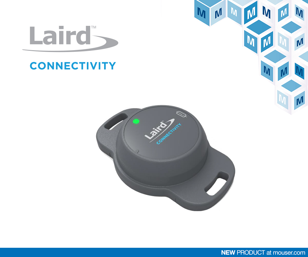 贸泽电子开售Laird Connectivity Sentrius BT510传感器