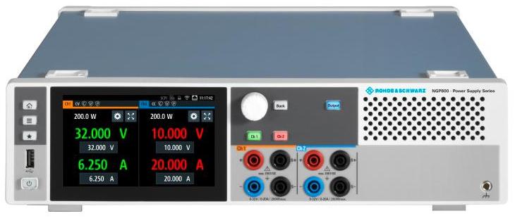 e络盟供货Rohde&Schwarz新一代电源