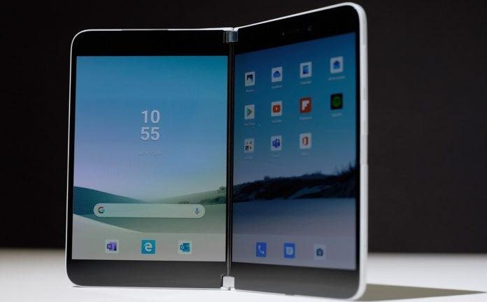微软Surface Duo未来新特性:支持3D深度相机