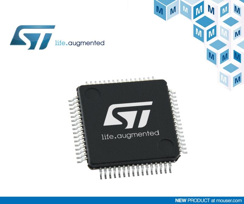 STMicroelectronics STM32L5超低功耗MCU在贸泽开售