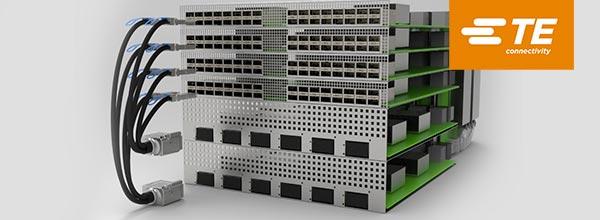 TE Connectivity新型 STRADA Whisper 电缆插座 支持下一代数据传输速率