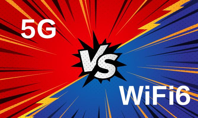 5G VS WiFi 6,实力大比拼!